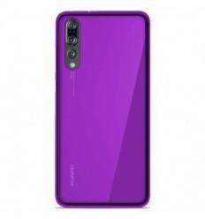 Coque Huawei P20 Pro Silicone Gel givré - Violet Translucide
