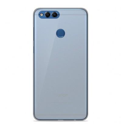 Coque Huawei Y9 2018 Silicone Gel givré - Blanc Translucide