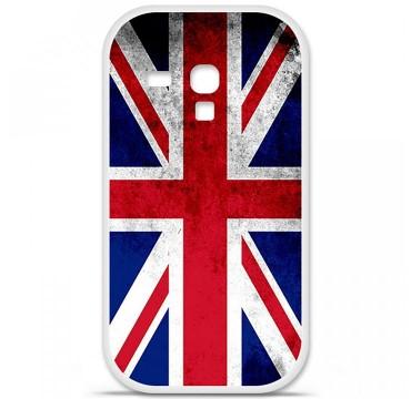 Coque en silicone Samsung Galaxy S3 Mini - Drapeau Angleterre