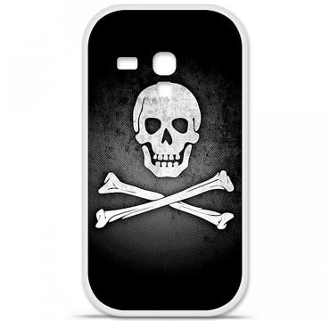 Coque en silicone pour Samsung Galaxy S3 Mini - Drapeau Pirate