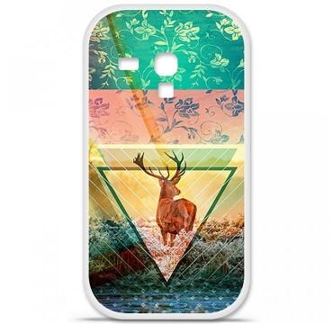 Coque en silicone pour Samsung Galaxy S3 Mini - Cerf swag