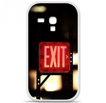 Coque en silicone Samsung Galaxy S3 Mini - Exit