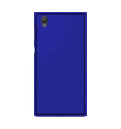 Coque Sony Xperia L1 Silicone Gel givré - Bleu Translucide