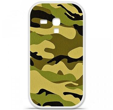 Coque en silicone Samsung Galaxy S3 Mini - Camouflage