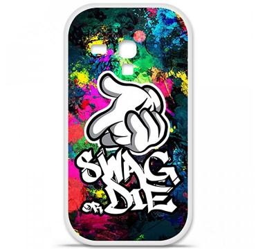 Coque en silicone Samsung Galaxy S3 Mini - Swag or die