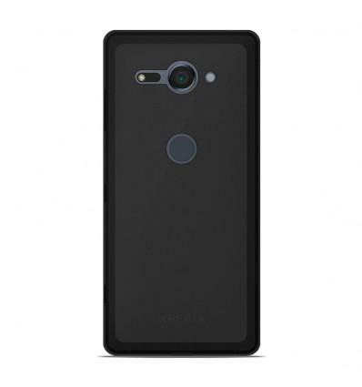 Coque Sony Xperia XZ2 Compact Silicone Gel givré - Noir