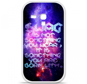 Coque en silicone Samsung Galaxy S3 Mini - Cosmic swag
