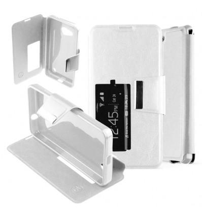 Etui Folio Nokia Lumia 550 - Blanc