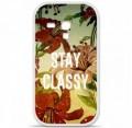 Coque en silicone Samsung Galaxy S3 Mini - Stay classy