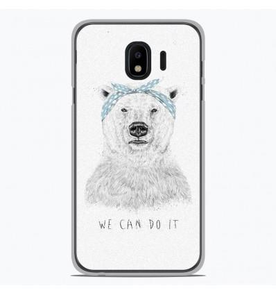 Coque en silicone Samsung Galaxy J2 Pro 2018 - BS We can do it