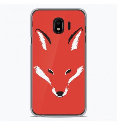 Coque en silicone Samsung Galaxy J2 Pro 2018 - RF Foxy Shape