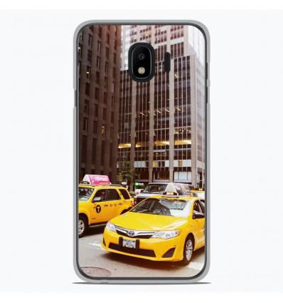 Coque en silicone Samsung Galaxy J2 Pro 2018 - NY Taxi