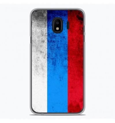 Coque en silicone Samsung Galaxy J2 Pro 2018 - Drapeau Russie