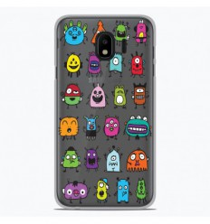 Coque en silicone Samsung Galaxy J2 Pro 2018 - Alien