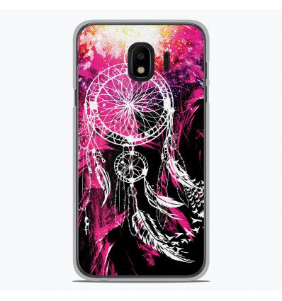 Coque en silicone Samsung Galaxy J2 Pro 2018 - Dreamcatcher Rose