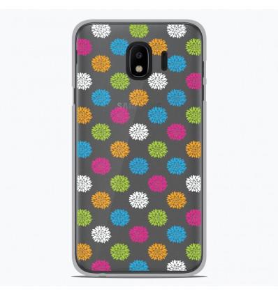 Coque en silicone Samsung Galaxy J2 Pro 2018 - Floral