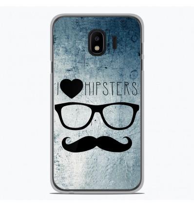 Coque en silicone Samsung Galaxy J2 Pro 2018 - I Love Hipster