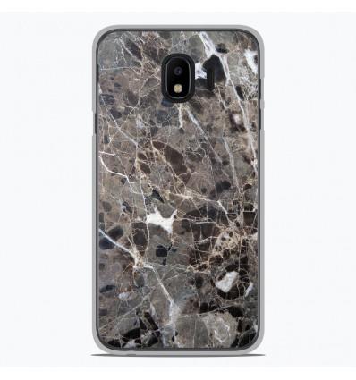 Coque en silicone Samsung Galaxy J2 Pro 2018 - Marbre