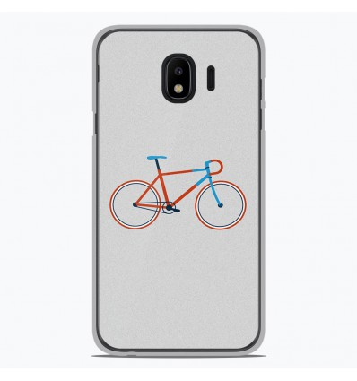 Coque en silicone Samsung Galaxy J2 Pro 2018 - Bike color Hipster