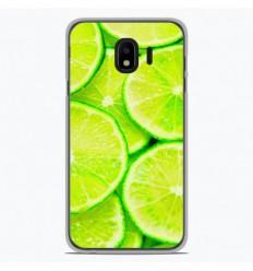 Coque en silicone Samsung Galaxy J2 Pro 2018 - Citron