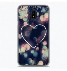 Coque en silicone Samsung Galaxy J2 Pro 2018 - Coeur Love