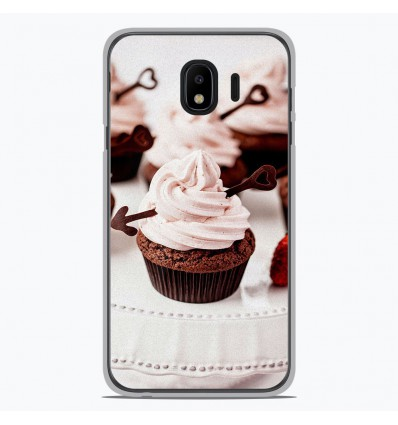 Coque en silicone Samsung Galaxy J2 Pro 2018 - Cup Cake