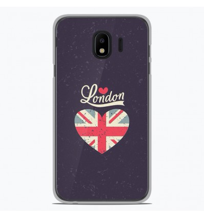 Coque en silicone Samsung Galaxy J2 Pro 2018 - I love London