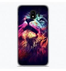Coque en silicone Samsung Galaxy J2 Pro 2018 - Lion swag