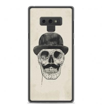 Coque en silicone Samsung Galaxy Note 9 - BS Class skull