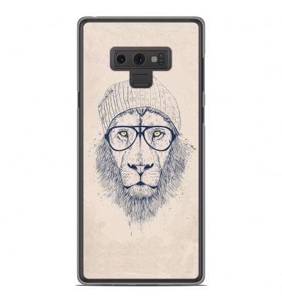 Coque en silicone Samsung Galaxy Note 9 - BS Cool Lion