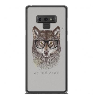 Coque en silicone Samsung Galaxy Note 9 - BS Granny