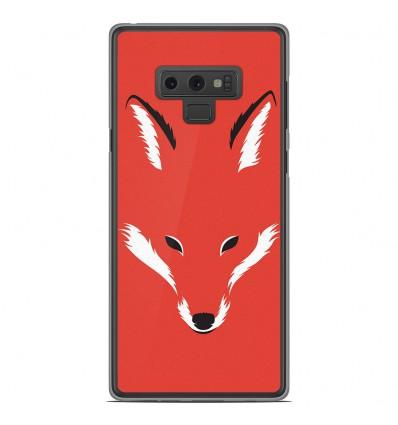Coque en silicone Samsung Galaxy Note 9 - RF Foxy Shape