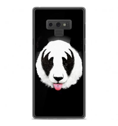 Coque en silicone Samsung Galaxy Note 9 - RF Kiss Of Panda