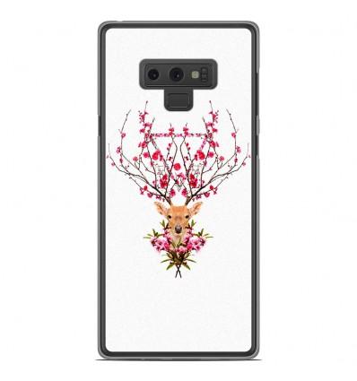 Coque en silicone Samsung Galaxy Note 9 - RF Spring deer