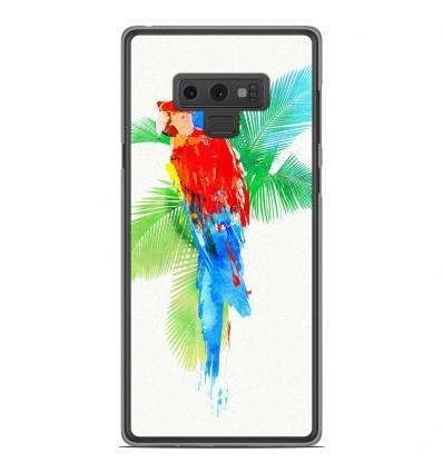 Coque en silicone Samsung Galaxy Note 9 - RF Tropical party