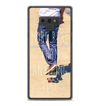 Coque en silicone Samsung Galaxy Note 9 - Real