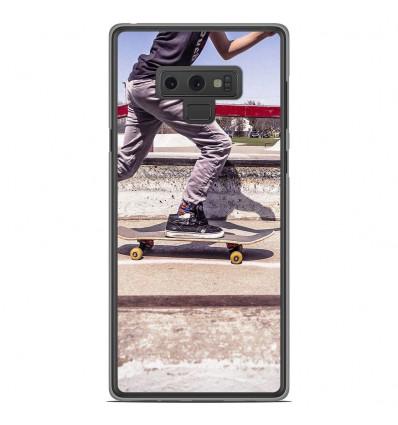 Coque en silicone Samsung Galaxy Note 9 - Skate