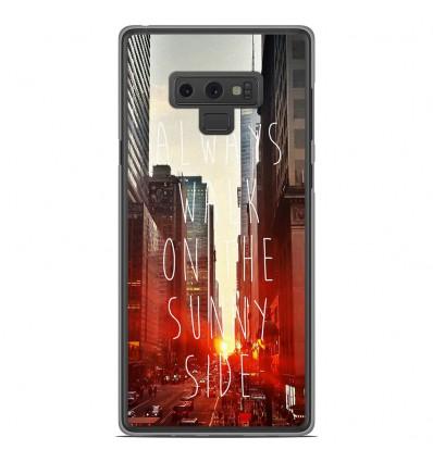 Coque en silicone Samsung Galaxy Note 9 - Sunny side