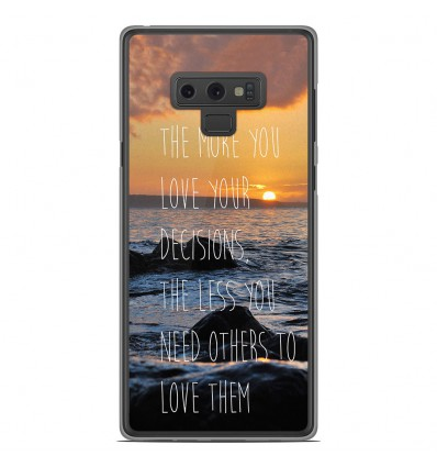 Coque en silicone Samsung Galaxy Note 9 - Sunshine