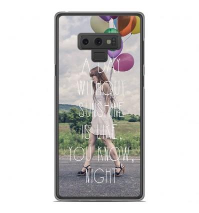 Coque en silicone Samsung Galaxy Note 9 - Woman