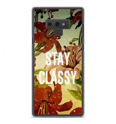 Coque en silicone Samsung Galaxy Note 9 - Stay classy