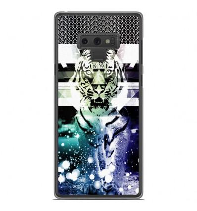 Coque en silicone Samsung Galaxy Note 9 - Tigre swag