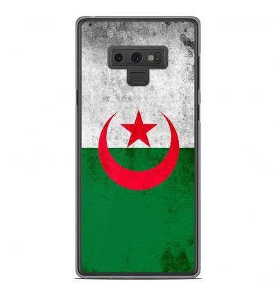 Coque en silicone Samsung Galaxy Note 9 - Drapeau Algérie