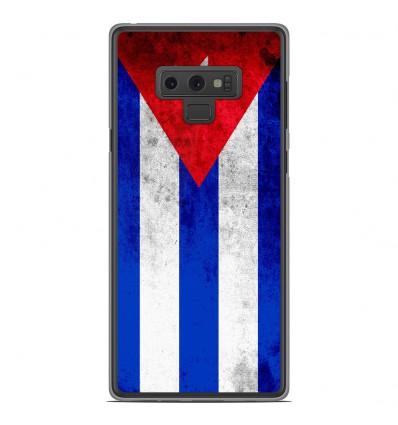 Coque en silicone Samsung Galaxy Note 9 - Drapeau Cuba