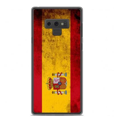 Coque en silicone Samsung Galaxy Note 9 - Drapeau Espagne