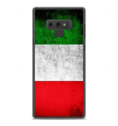 Coque en silicone Samsung Galaxy Note 9 - Drapeau Italie