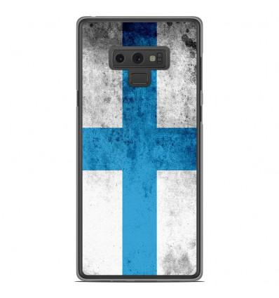 Coque en silicone Samsung Galaxy Note 9 - Drapeau Marseille