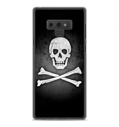 Coque en silicone Samsung Galaxy Note 9 - Drapeau Pirate