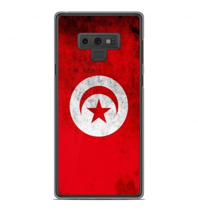 Coque en silicone Samsung Galaxy Note 9 - Drapeau Tunisie