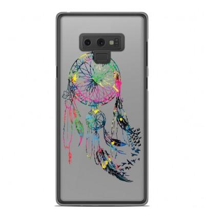 Coque en silicone Samsung Galaxy Note 9 - Dreamcatcher Gris